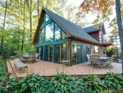 The Guest House is a pet friendly vacation home in South Haven