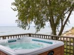 Lakefront Hot Tub