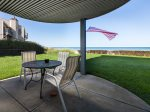 Private Patio out to Lake Michigan