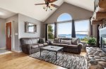 Family Room with amazing view of Bear Lake