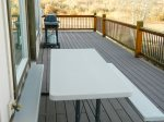 Large Porch, BBQ and Table