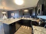 Updated kitchen, granite counter tops, new stainless steel appliances