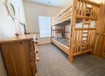Upstairs 2nd Bedroom - Twin Bunk Bed