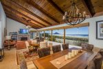 This amazing oceanfront home offers a comfortable & roomy common living area with breathtaking views in every direction.