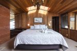 The fourth bedroom offers a twin over full bunk bed