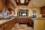 Custom finishes, ample counter space, and high end appliances