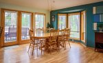 Bright and Airy Dining room can seat 12 in comfort