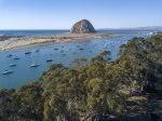 The stunning Morro Bay Harbor is accessible by stairs near the home