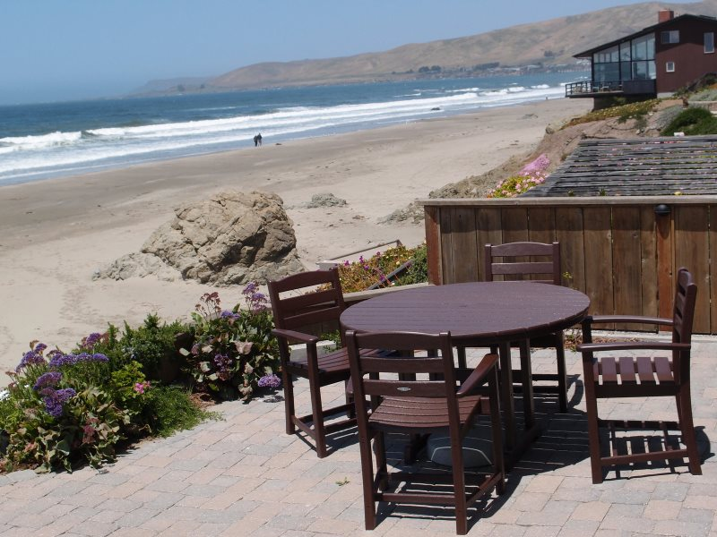 Fabulous Cayucos Oceanfront Home Just Steps To The Beach Furnished And Equipped For Your Perfect Vacation