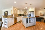 You will want to be the cook here so you can be in this beautiful, well-stocked kitchen.
