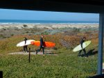 This trail is right off your front deck.  Very popular with the surfers.