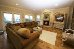 Enjoy time with the family in this great living room with a balcony and views of Morro Rock