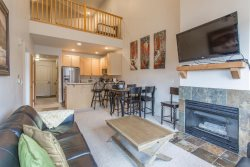 Just Renovated Top Floor 1BR + Loft 2 Full Bath Condo Sleeps 5 in Beds Air Conditioning
