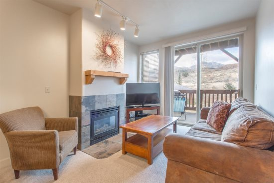 Open Concept Great Room with Gas Fireplace