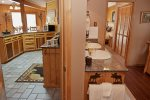 Timber Crest Retreat Master Bath with Kitchen Access