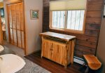 Timber Crest Retreat Master Bathroom