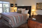 Whispering Pines Master Bedroom