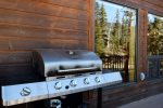 Bear Mountain Cabin Propane Grill