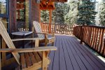 Bear Mountain Cabin Patio