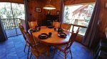 Woodford Cabin Dinning Area