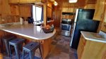 Woodford Cabin Kitchen/Bar Seating
