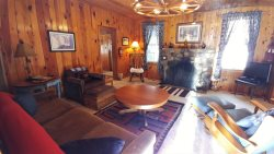 Casa Loma Cabin -  Rustic - In Town - Historic 100+ Year Old Miner's Cabin - WiFi - Cable - Wood Burning Fireplace - Semi Secluded