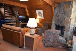 Claim Jumper A-Frame #1 - Pet Friendly - In Town - Ski In/Ski Out - On The River - WiFi - Cable - Wood Burning Fireplace