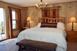 River Rock Lodge Master Bedroom