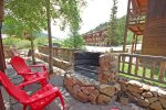 River Rock Lodge Firepit