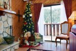 Yellow Rose Living Room Year-Round Guest Christmas Tree