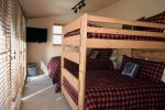 Hunters Paradise Main Level Bunk Bedroom