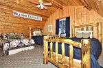 Copper Creek Chalet Upstairs Bedroom