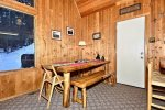 Copper Creek Chalet Dining Area