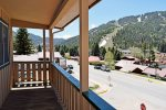 Ski View Condo 2 Second Balcony