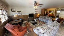 Ski View Condo Lodge #10 - In Town, On Main Street,  WiFi, Cable, Wood Burning Fireplace, Outdoor Gas Grilling and Patio Area, Trailer Parking In Back