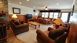 Ski View Condo Lodge #12 - In Town, On Main Street, Private Balcony, Trailer Parking in Back, WiFi, Cable, Wood Burning Fireplace, Commons Area With Game Room and Laundry Facility