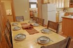 Pinon Valley Cabin Dining Area