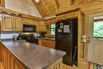Enjoy the well equipped kitchen for making family meals