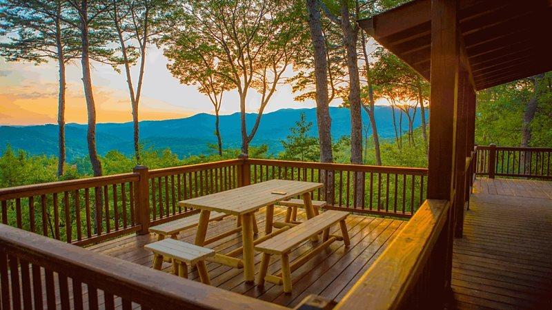 North Georgia Cabin Eventide Blue Sky Cabin Rentals