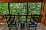 Back porch rocking chairs