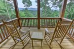 Private deck off the master bedroom offers exceptional views