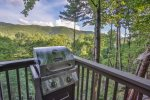 Enjoy a grilled a dinner while soaking up the views