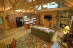 Open floor plan for spacious living