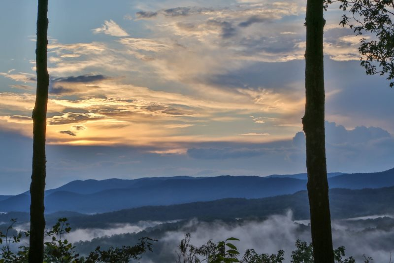 Blue Sky Cabin Rentals Sky High View