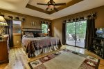Stunning main level king master bedroom with private bath