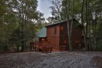 Creekside Hideaway sitting on a little over 1 acre