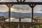 Take in those stunning views of the North Georgia Mountains from the main level deck