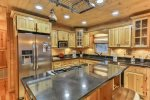 Fully furnished kitchen with everything you need to cook the family a meal