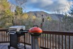 Grill some steaks and enjoy the North Georgia Mountain View