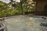 The hot tub to soak away the stresses of city life